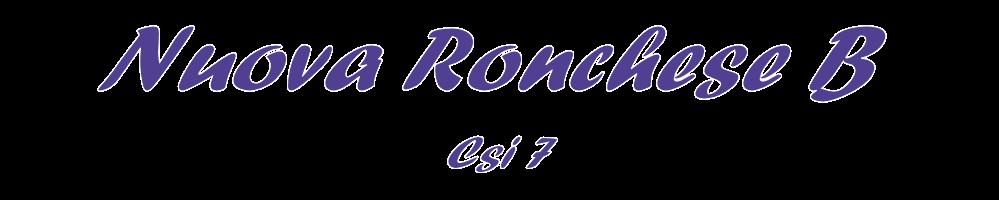 Il blog della Nuova Ronchese CSI a 7, la gloriosa polisportiva di Ronco Briantino